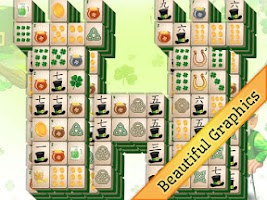 Screenshot of St. Patrick's Day Mahjong
