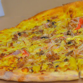 My Pan Pizza by Syahrul Nizam Abdullah - Food & Drink Meats & Cheeses