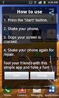 Screenshot of Crack Your Screen Express