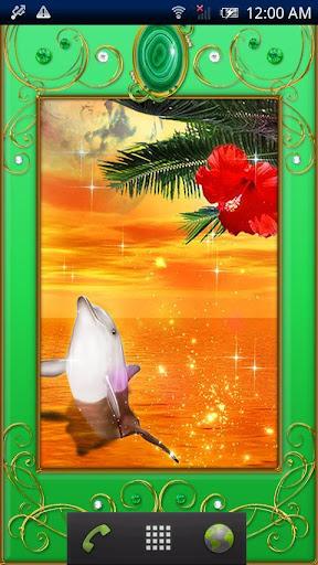 Dolphin -Malachite-