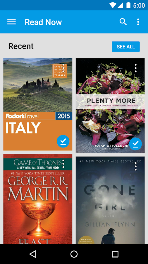 Google Play Books Screenshot 0