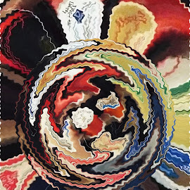 Twisted Thread by Marilyn Bass - Digital Art Things ( thread spool, thread spools, arkansas photographer, spool, arkansas, spools )