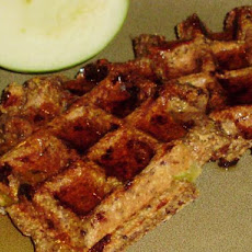 Healthy Low-Fat Whole Wheat Apple Spice Waffles