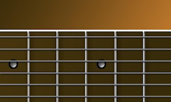 Screenshot of Acoustic Guitar Fretboard