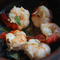Prawns in Ginger
