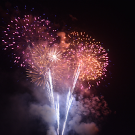 by Tyler Klinger - Abstract Fire & Fireworks