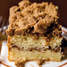 Cinnamon Crusted Coffee Cake