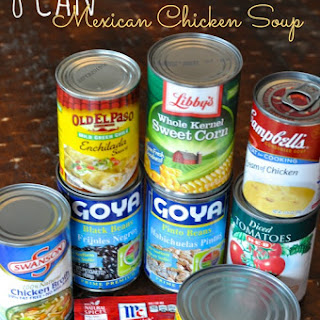 8 Can Chicken Tortilla Soup
