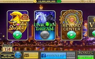 Screenshot of Gold Dolphin Casino Slots™