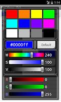 Screenshot of Text Memo(Widget)
