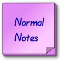 Normal Notes icon