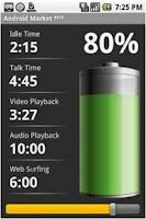 Screenshot of BatteryTime: Classic
