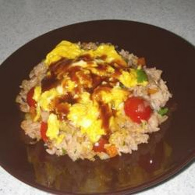 Tomato and Vegetable Fried Rice