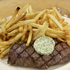 Steak Frites Herb Butter