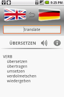 Screenshot of Euro Dictionary DEMO