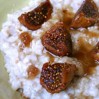 Oatmeal with Honeyed Figs