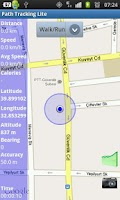 Screenshot of Path Tracking Lite