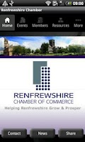 Screenshot of Renfrewshire Chamber