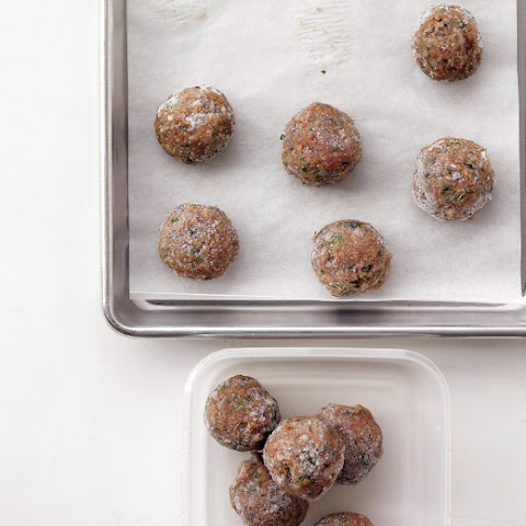 Light Turkey Meatballs