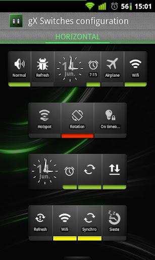 gX Switches