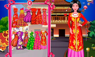 Screenshot of Chinese a makeover free – Kids