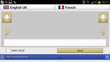 Screenshot of Trans-Vox Speech Translator