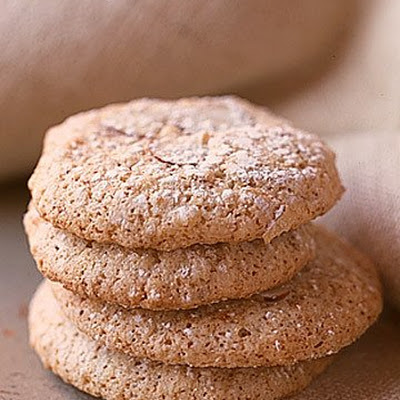 Chewy Almond Orange Cookies
