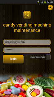 Candy Vending Machine Service - screenshot