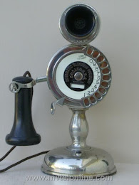 Candlestick Phones - AE Strowger Potbelly Candlestick Telephone 1