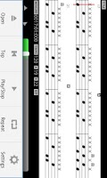 Screenshot of MIDI Drum Score Player