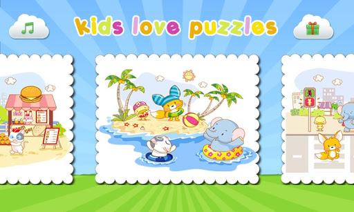 Kids Love Puzzles