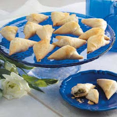 Spinach Phyllo Bundles Recipe