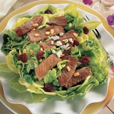 Beef Sirloin Salad with Dried Cherries