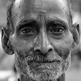 The Pain by Rakesh Syal - Black & White Portraits & People (  )