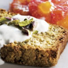 Pistachio And Almond Cake With Orange Salad Recipe