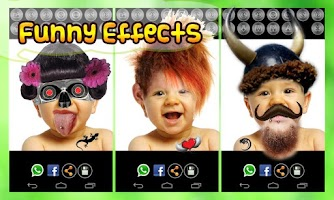 Screenshot of Fun Face Changer: Photo Studio