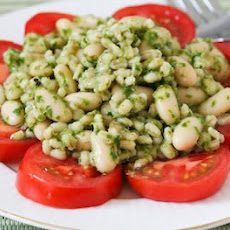 Barley and White Bean Salad with Parsley, Lemon, and Capers