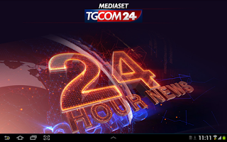 Screenshot of TGCOM24 HD