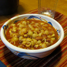 Lima Bean and Kielbasa Soup (Crock Pot)