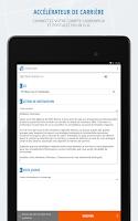 Screenshot of Cadremploi: offre emploi cadre
