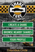 Screenshot of Share Fare