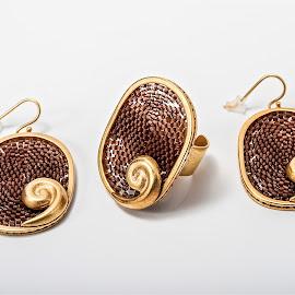 ARETES MONGO by Jose Mata - Artistic Objects Jewelry