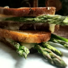 Grilled Cheese with Asparagus