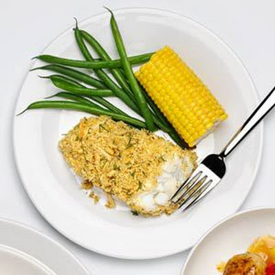 Crunchy Baked Fish Fillets