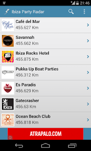 Ibiza Party Radar - screenshot