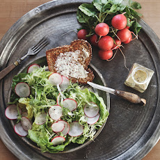 Radish Salad with Honey Poppy Seed Vinaigrette