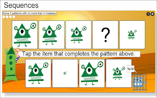 Screenshot of Kids Sequences and Counting