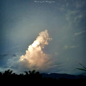 by Hasrijal Hasyiem - Landscapes Cloud Formations