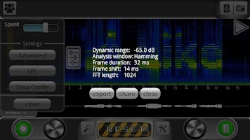 Screenshot of ProSpec - Spectrum Analyzer