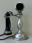 Candlestick Phones - American Electric Potbelly Candlestick Telephone